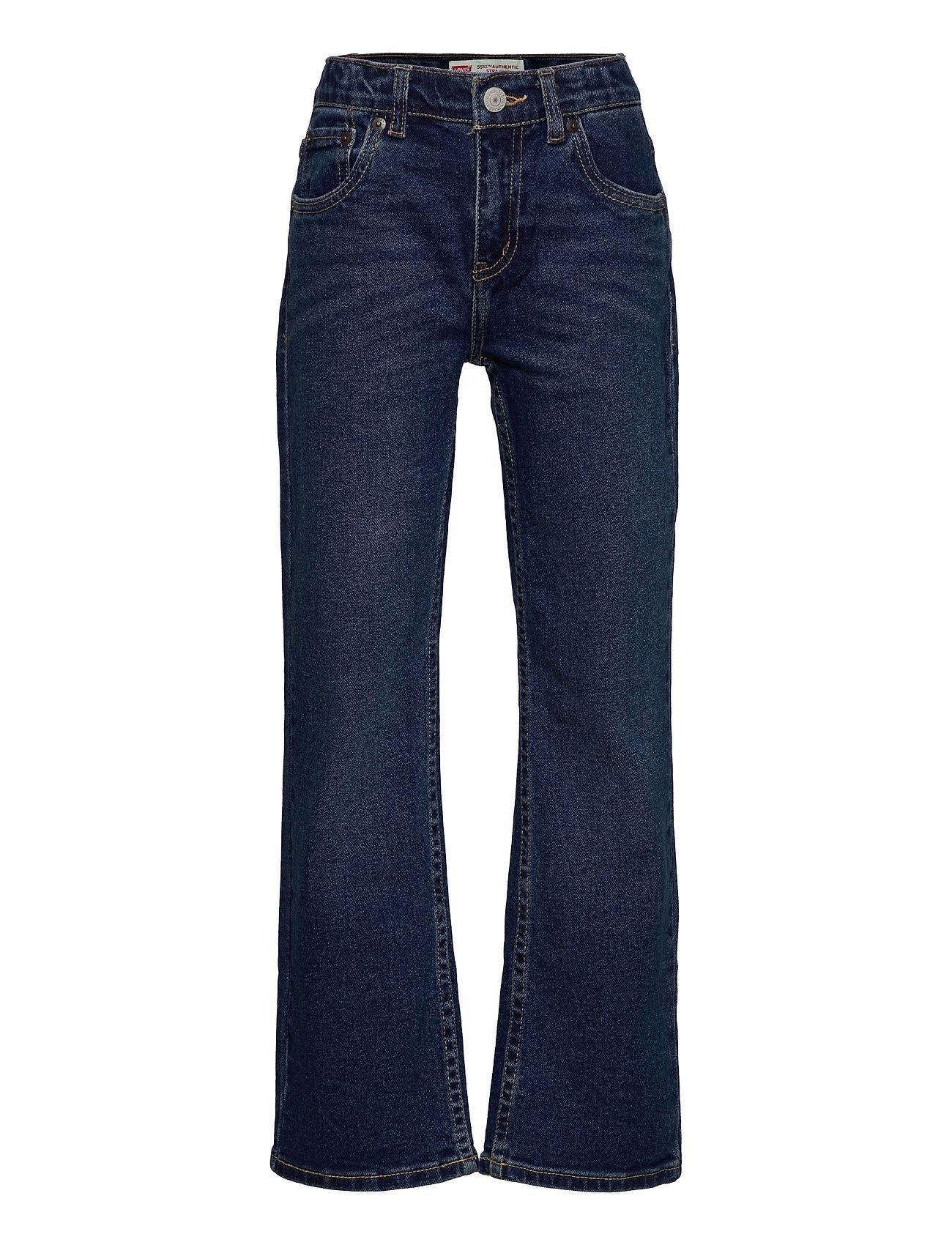 Lvb-551z Authentic Straight Jeans Jeans Blå Levi's