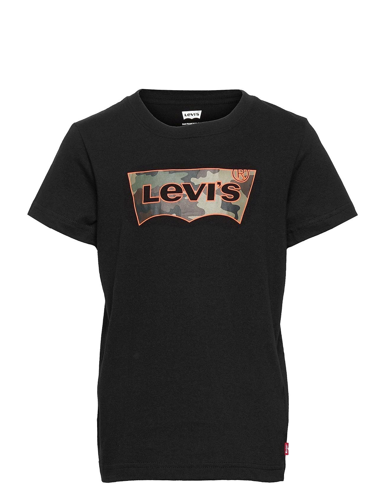 Lvb Short Slv Graphic Te Shirt T-shirt Sort Levi's