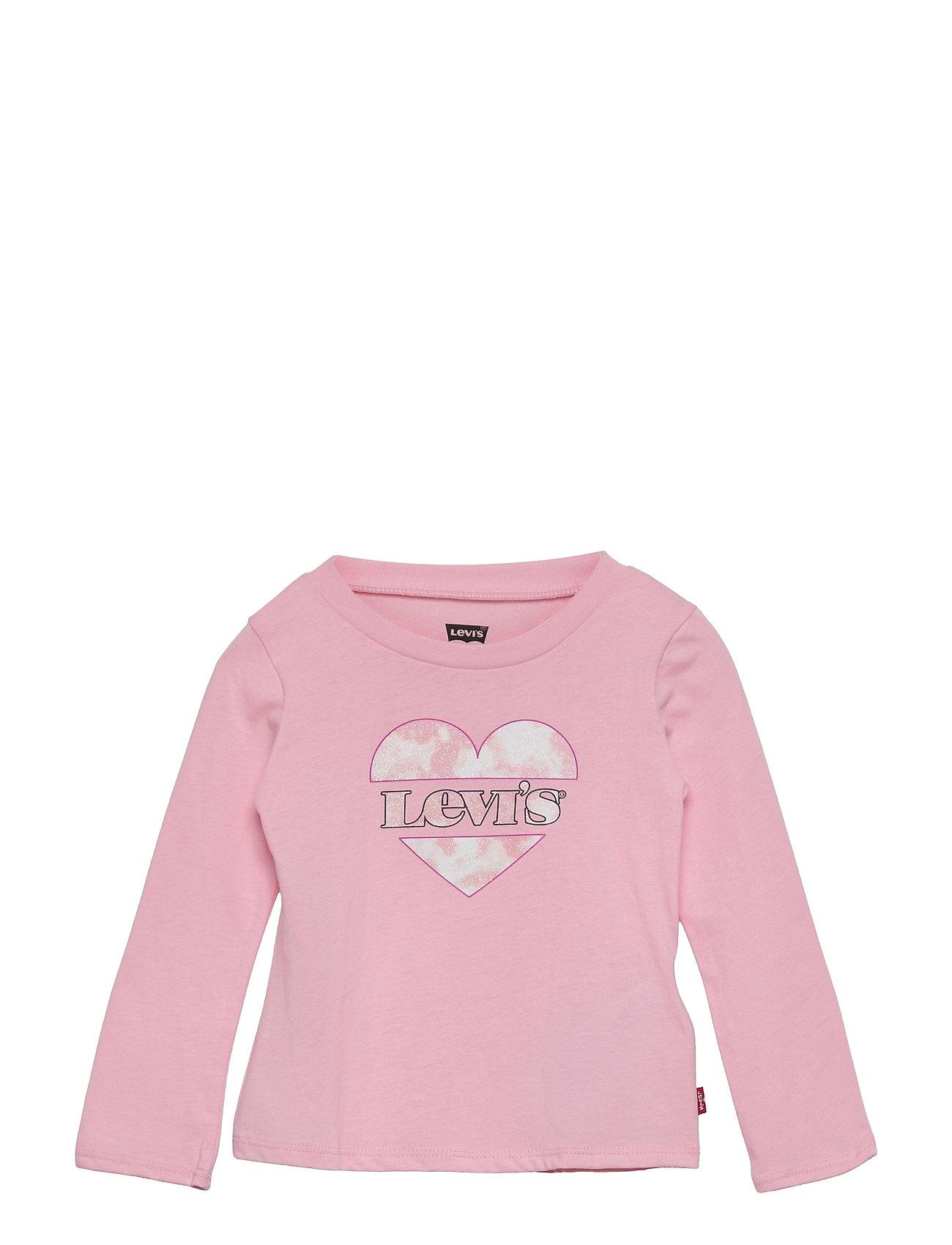 Lvg Long Sleeve Tee Shirt Langærmet T-shirt Lyserød Levi's