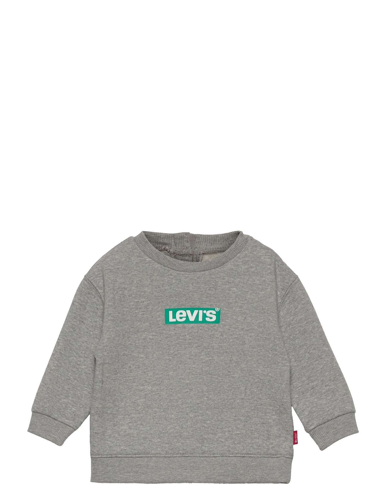 Lvb Knit Crew Jogger Set Tracksuit Grå Levi's