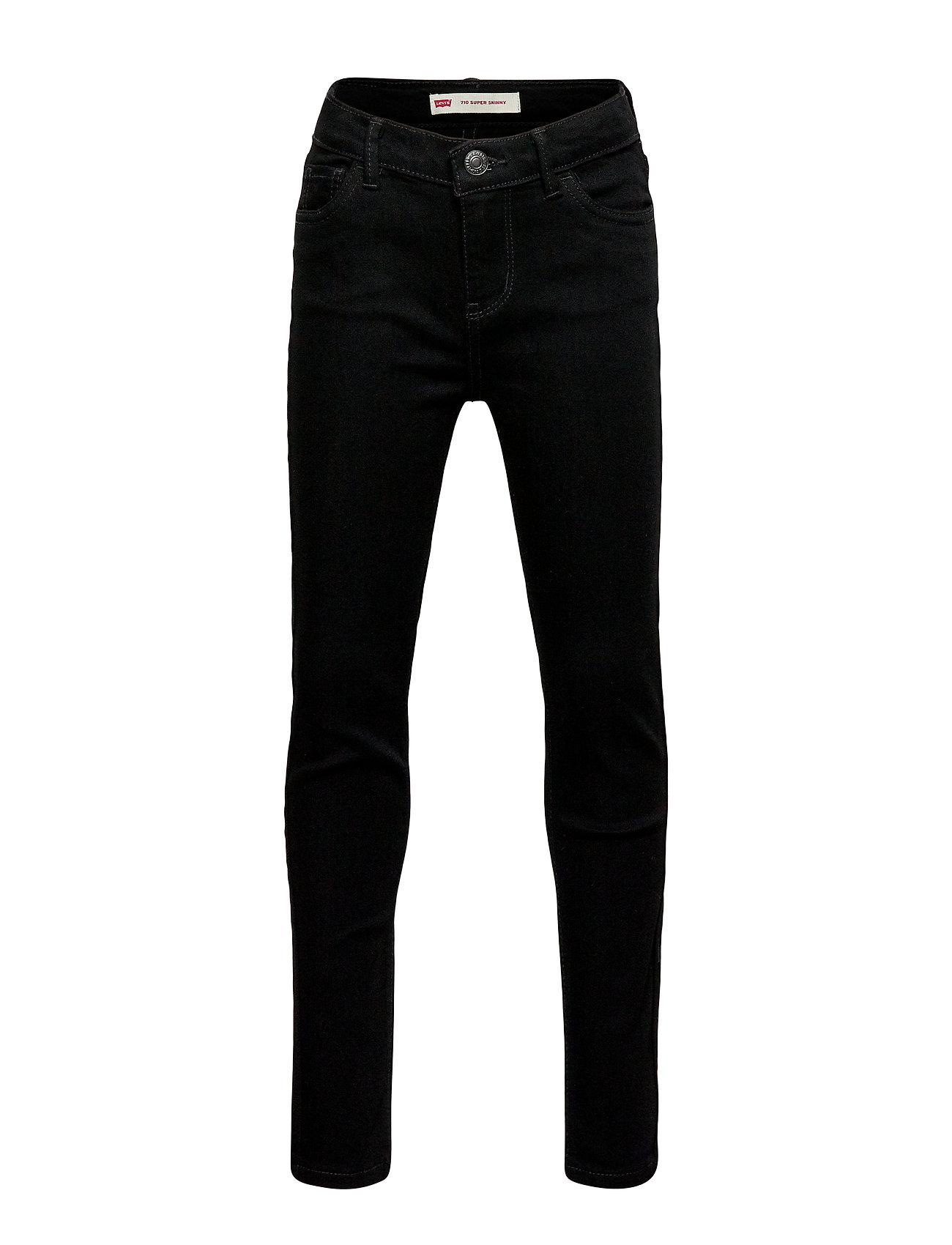Levi's 710 Super Skinny - RINSED BLACK