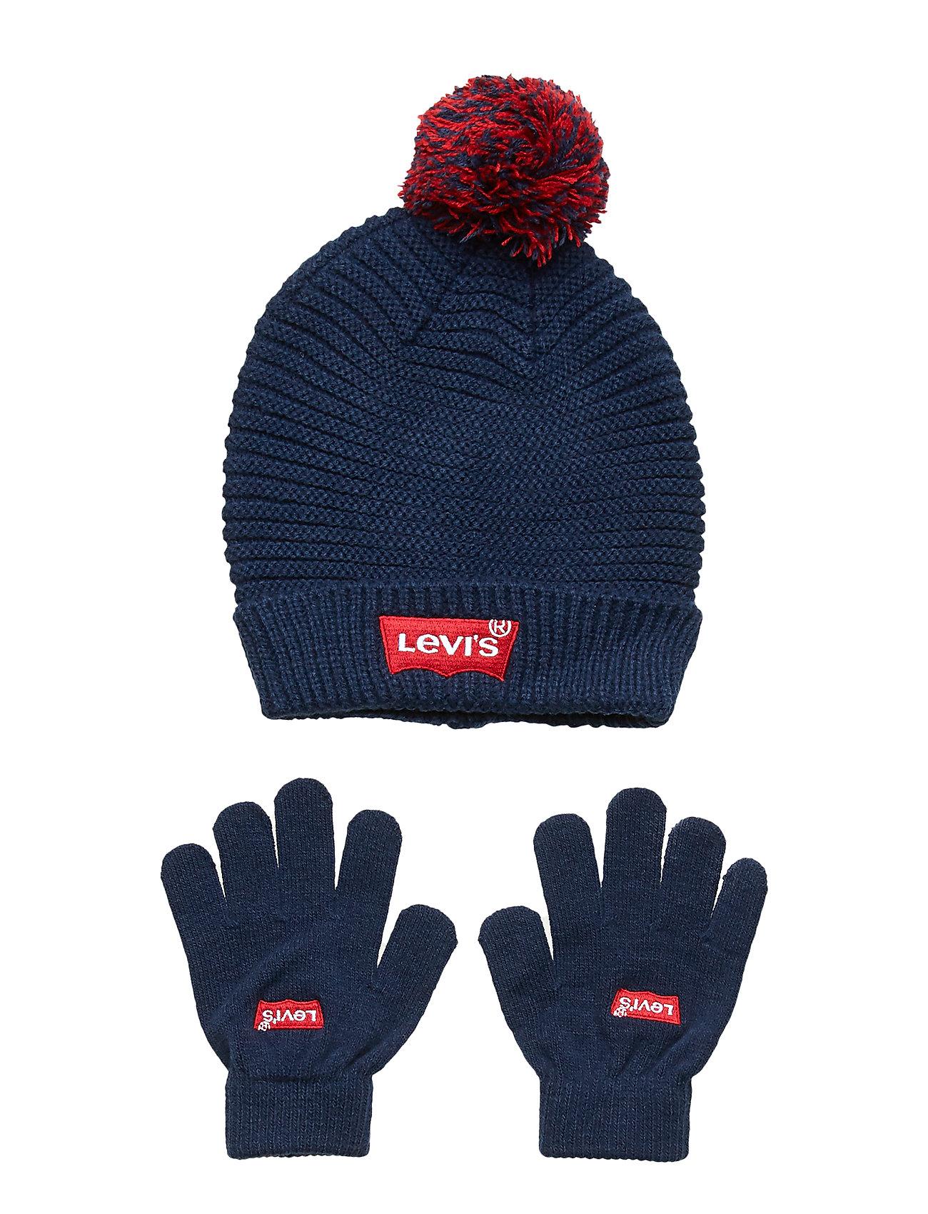 Levi's HAT MITTENS - DRESS BLUES
