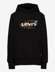 Levi's - CHENILLE BATWING HOODIE - kapuzenpullover - black w/camo - 0