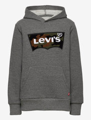Levi's - CHENILLE BATWING HOODIE - kapuzenpullover - charcoal heather - 0