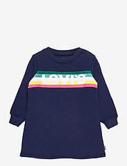 Levi's - LVG SWEATSHIRT DRESS - kleider - medieval blue - 0