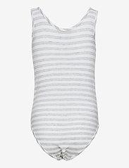 Levi's - LVG TANK BODYSUIT - jumpsuits - gray heather - 1