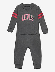 Levi's - LVN COLLEGIATE KNIT COVERALL - À manches longues - charcoal heather - 0