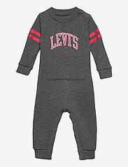 Levi's - LVNCOLLEGIATEKNITCOVERALL - langärmelig - charcoal heather - 0