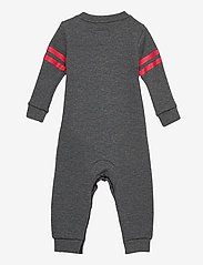 Levi's - LVN COLLEGIATE KNIT COVERALL - À manches longues - charcoal heather - 1