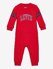 Levi's - LVNCOLLEGIATEKNITCOVERALL - À manches longues - super red - 0