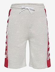 Levi's - LVB RED TAB LOGO JOGGER SHORT - shorts - grey heather - 0