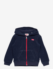 Levi's - COZY ZIP UP - fleecetøj - dress blue - 0