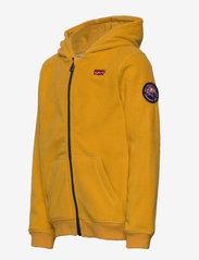 Levi's - COZY ZIP UP - fleecetøj - golden yellow - 2