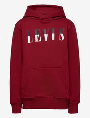 Levi's - LVB MULTICOLOR LOGO PO HOODIE - hoodies - biking red - 0