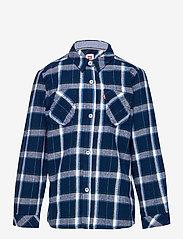 Levi's - LVB LS WOVEN BUTTON UP SHIRT - overhemden - dress blue - 0