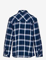 Levi's - LVB LS WOVEN BUTTON UP SHIRT - overhemden - dress blue - 1