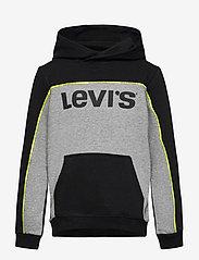 Levi's - LVB PIPED PULLOVER HOODIE - kapuzenpullover - black - 0