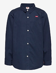 Levi's - LVB LS WOVEN BUTTON UP SHIRT - overhemden - dress blues - 0