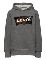 CHENILLE BATWING HOODIE - CHARCOAL HEATHER