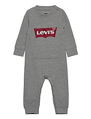 LVB KNIT COVERALL - GREY HEATHER