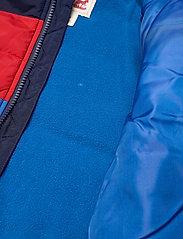 Levi's - LVN COLOR BLOCK PUFFER I - dunjakker & forede jakker - prince blue - 4