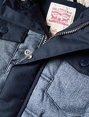 Levi's - LVB QUILTED TRUCKER JACKET - veste rembourrée - dress blue - 2