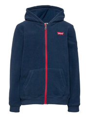 COZY ZIP UP - DRESS BLUES