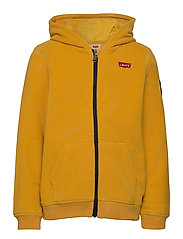 COZY ZIP UP - GOLDEN YELLOW