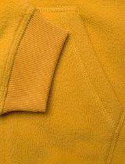 Levi's - COZY ZIP UP - fleecetøj - golden yellow - 4