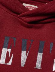 Levi's - LVB MULTICOLOR LOGO PO HOODIE - hoodies - biking red - 2
