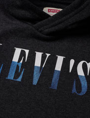 Levi's - LVB MULTICOLOR LOGO PO HOODIE - hoodies - black heather - 2