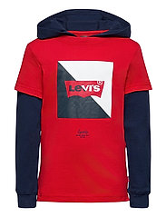 LVB2FERPULLOVERHOODIE - SUPER RED