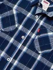 Levi's - LVB LS WOVEN BUTTON UP SHIRT - overhemden - dress blue - 2