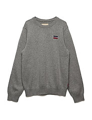 SWEATER 84KNIT - GREY CHINE