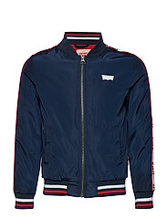 BLOUSON TEDDY - DARK BLUE