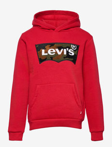 CHENILLE BATWING HOODIE - hoodies - chili pepper/camo