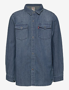 BARSTOW WESTERN SHIRT - skjorter - vintage stone