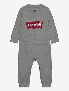 LVB KNIT COVERALL - pitkähihaiset - grey heather