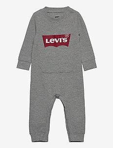LVBKNITCOVERALL - long-sleeved - grey heather