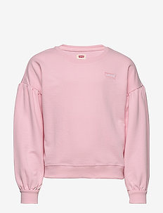 BALLOON SLEEVE CREW - sweat-shirt - rose shadow