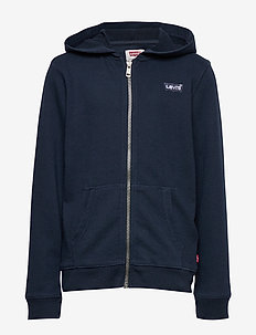 WASHED ZIP UP HOODIE - pulls à capuche - dress blues