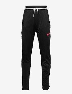 TAPED TRACK PANT - spodnie dresowe - black