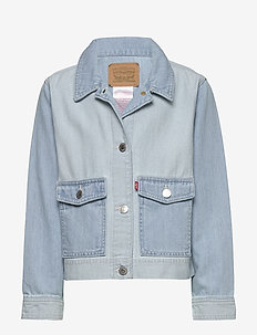 SOFT + LIGHT CORE COAT TRUCKER - denimjakker - capri
