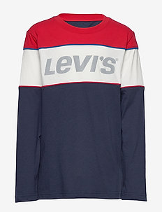 L/S Color Block Tee - dlugi-rekaw - dress blues