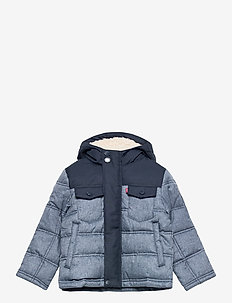 LVB QUILTED TRUCKER JACKET - veste rembourrée - dress blue