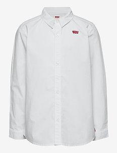 LVB LS WOVEN BUTTON UP SHIRT - hemden - white