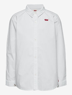 LVB LS WOVEN BUTTON UP SHIRT - chemises - white