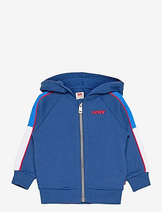 COLORBLOCKED HOODIE - pulls à capuche - estate blue