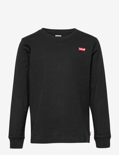 LVB L/S BATWING CHESTHIT TEE - langærmede t-shirts - black