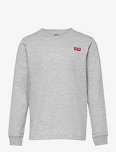 LVB L/S BATWING CHESTHIT TEE - manches longues - grey heather